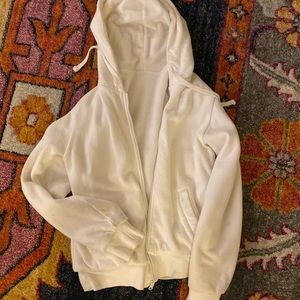North Face White Hoodie